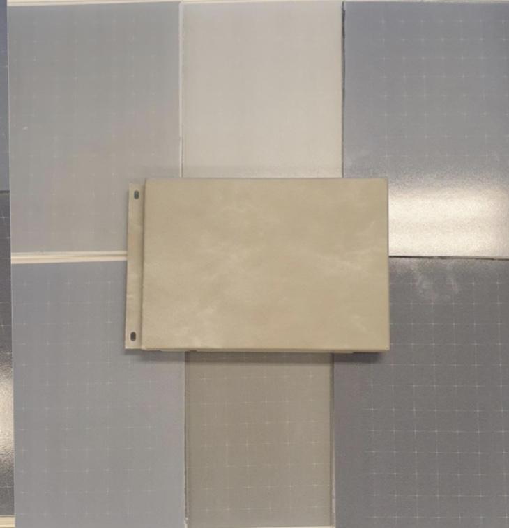 IQ-gevel zilverkleurige PV panelen