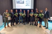 Passiefbouwen awards 2015 uitreiking gevel