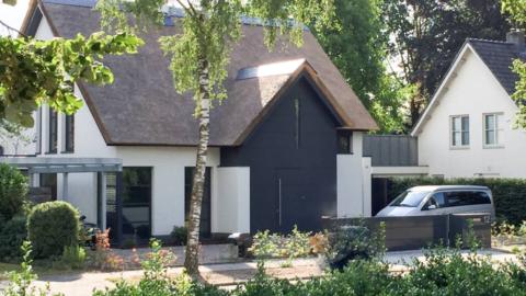 Woonhuis van de familie Huis in Heeze