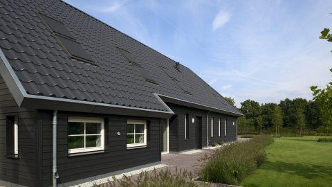 Passiefhuis met bijgebouw in Gemert